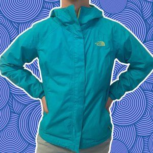 The North Face Dryvent Turquoise Lime Liner Hooded